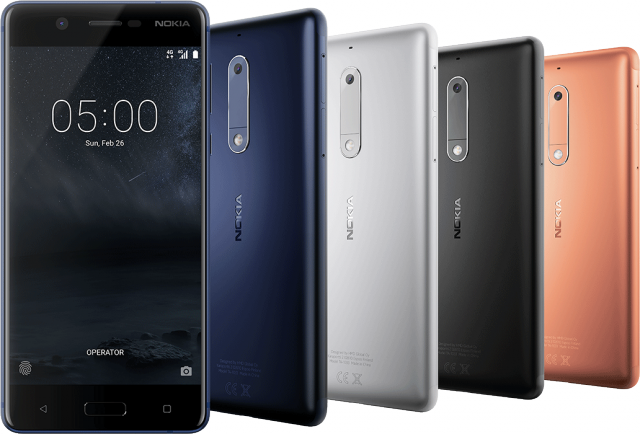 Nokia 5 Launched