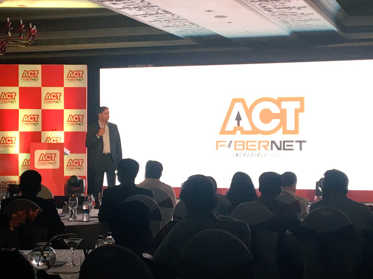 act fibernet launches gigabit broadband in hyderabad at rs 5 999