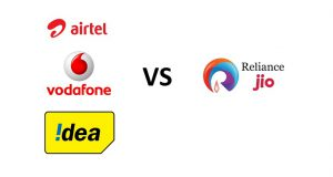 Airtel Vodafone Idea vs Reliance Jio