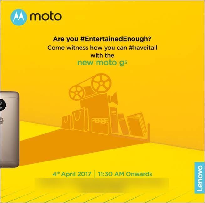 Moto G5 Invite