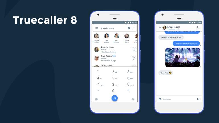 Truecallear 8 SMS