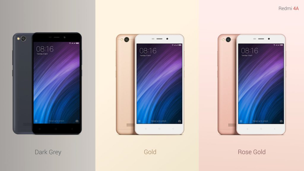 Xiaomi Redmi 4A Launched In India At Rs5999 With 4G VoLTE