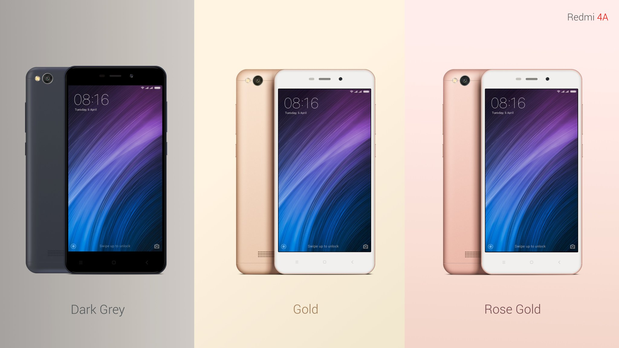 Xiaomi Redmi 4a Launched In India At Rs 5 999 With 4g Volte