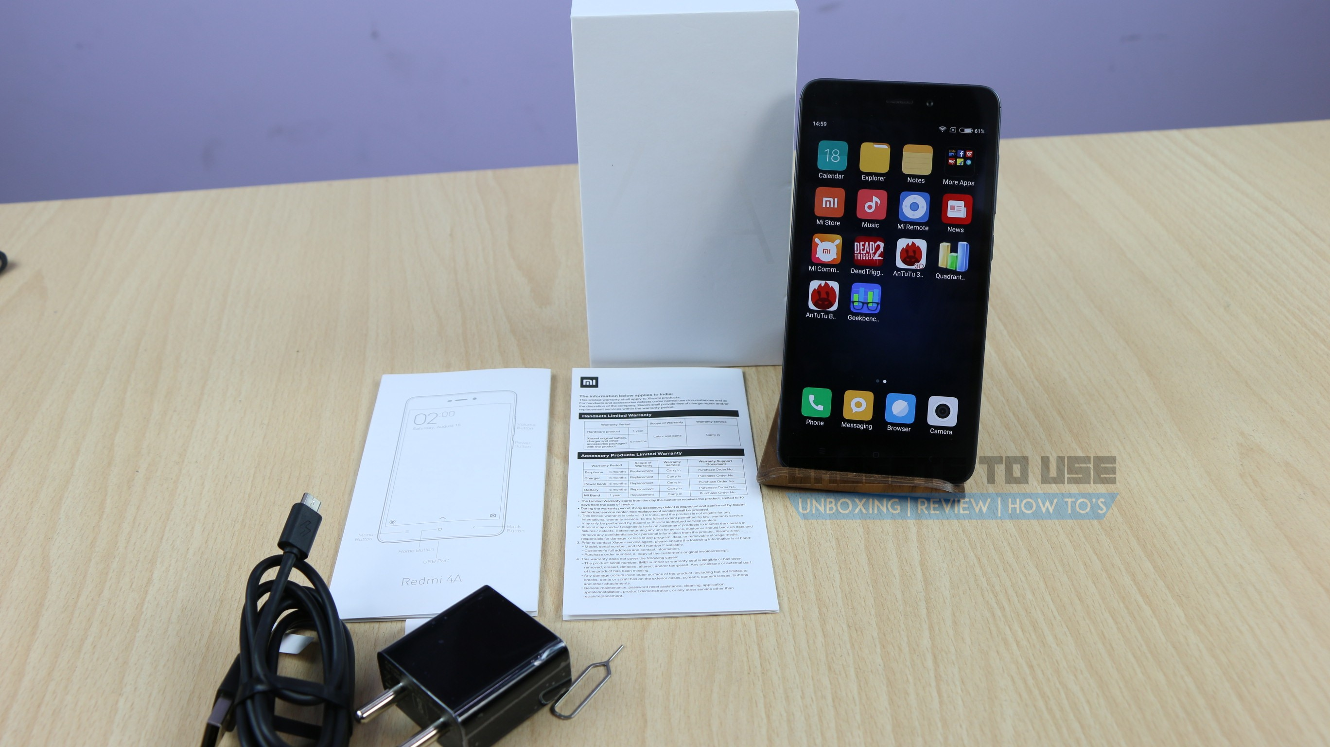 Xiaomi Redmi 4a Hands On Overview Specs And Price