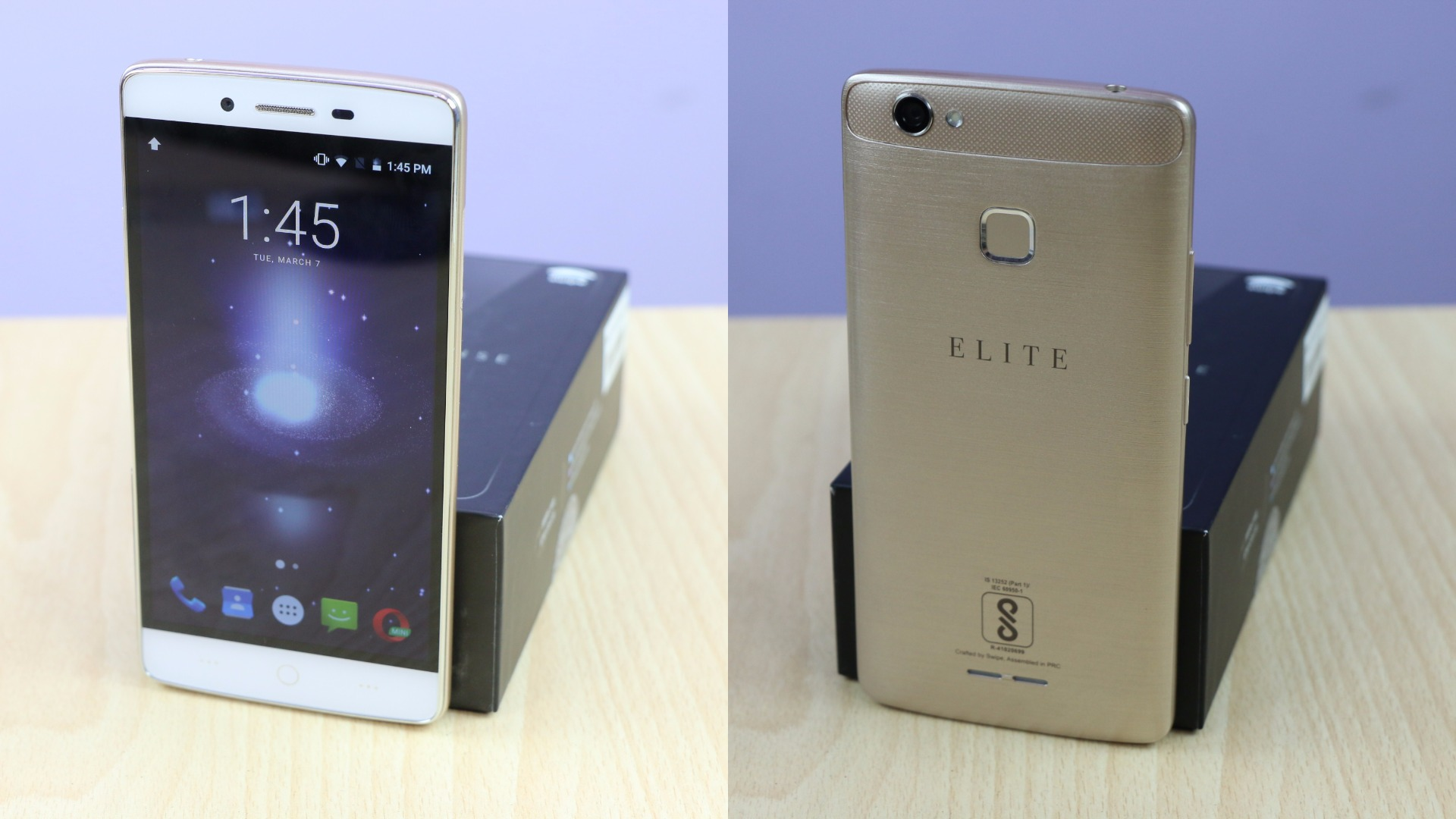 super popular e13aa a9815 Swipe Elite Sense Unboxing, Quick Review, Gaming and Benchmarks ...