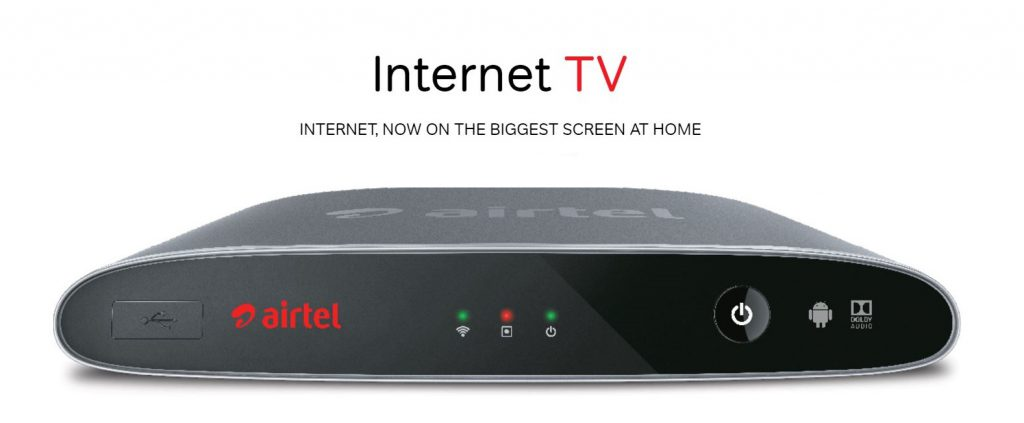 Airtel Internet TV
