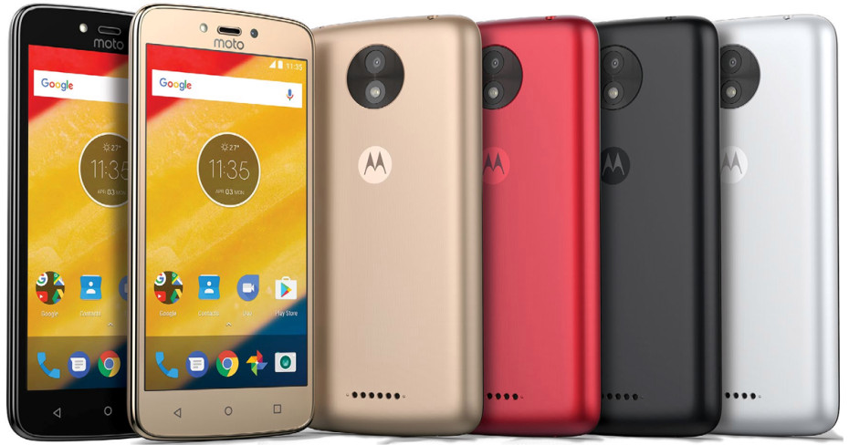 Motorola Moto C and C Plus