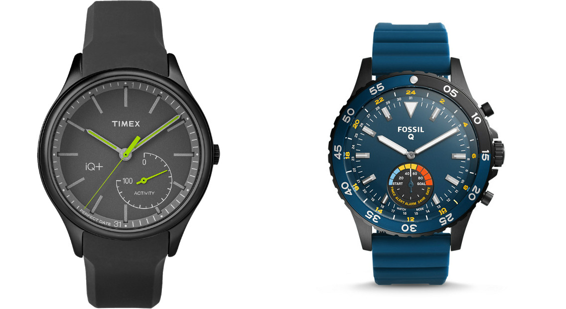 Timex IQ+ Move vs Fossil Q Crewmaster Comparison Review – Gadgets To Use