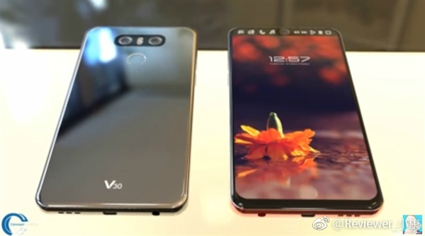 LG V30 Live Images Leaked, On Par With The Leaked Patent