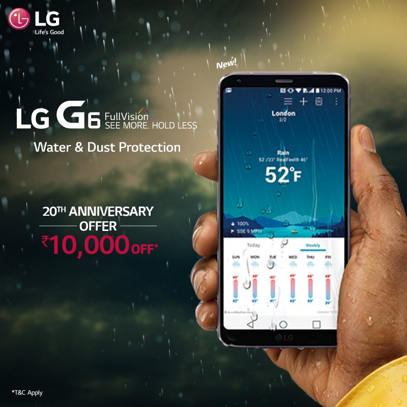 Lg G6 Discount India