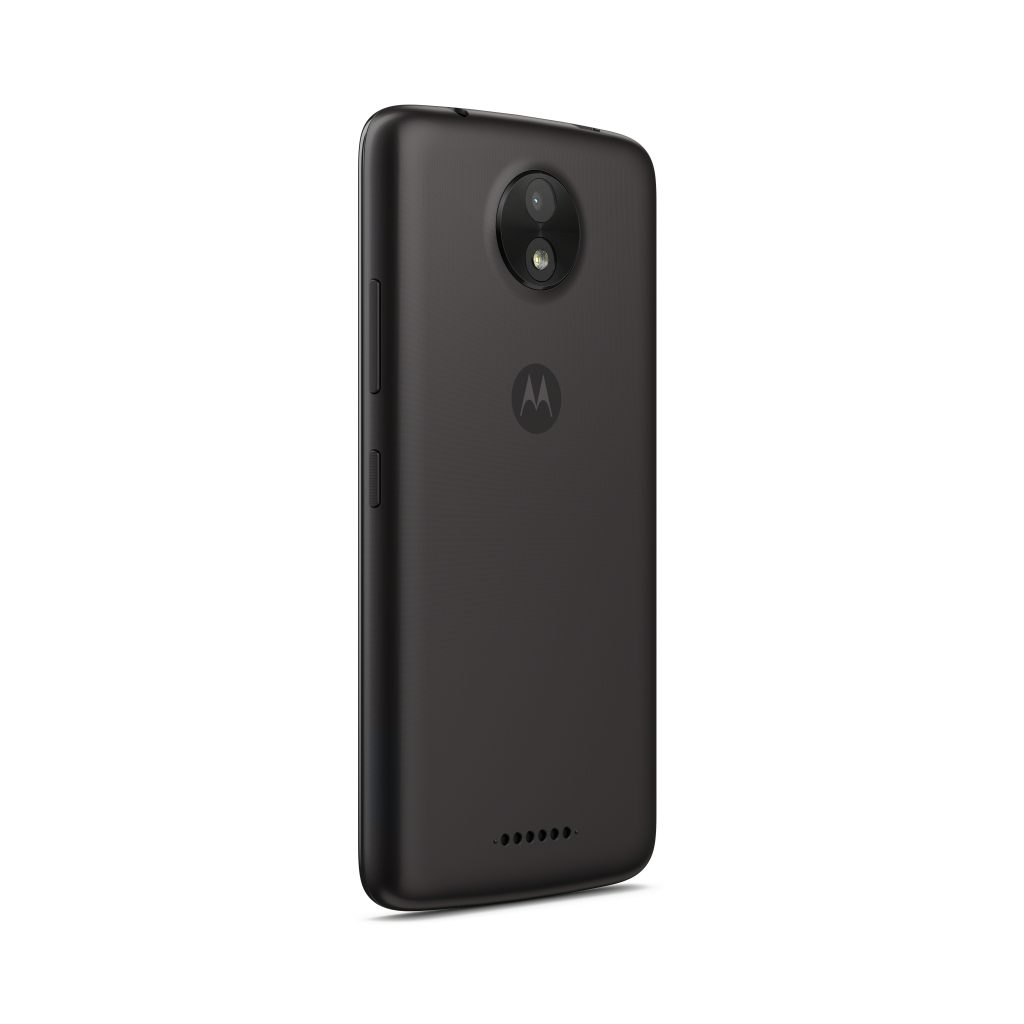 Moto C_Starry Black_Back Angle
