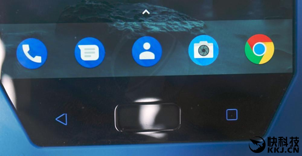 Nokia 9 home button cum fingerprint scanner