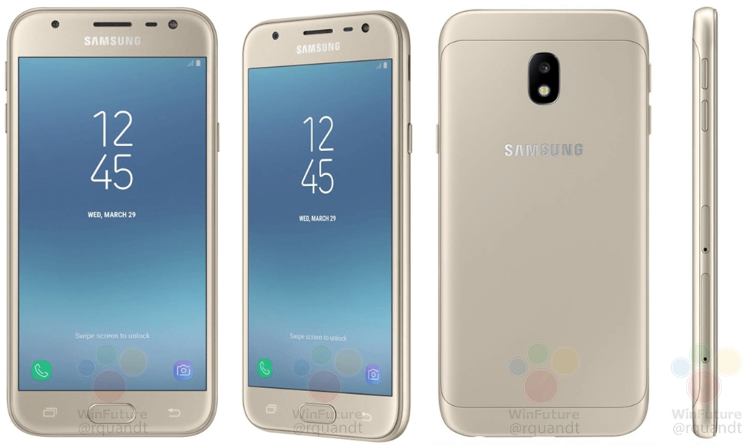 samsung galaxy j3 2017 sm j330 press images leaked. Black Bedroom Furniture Sets. Home Design Ideas