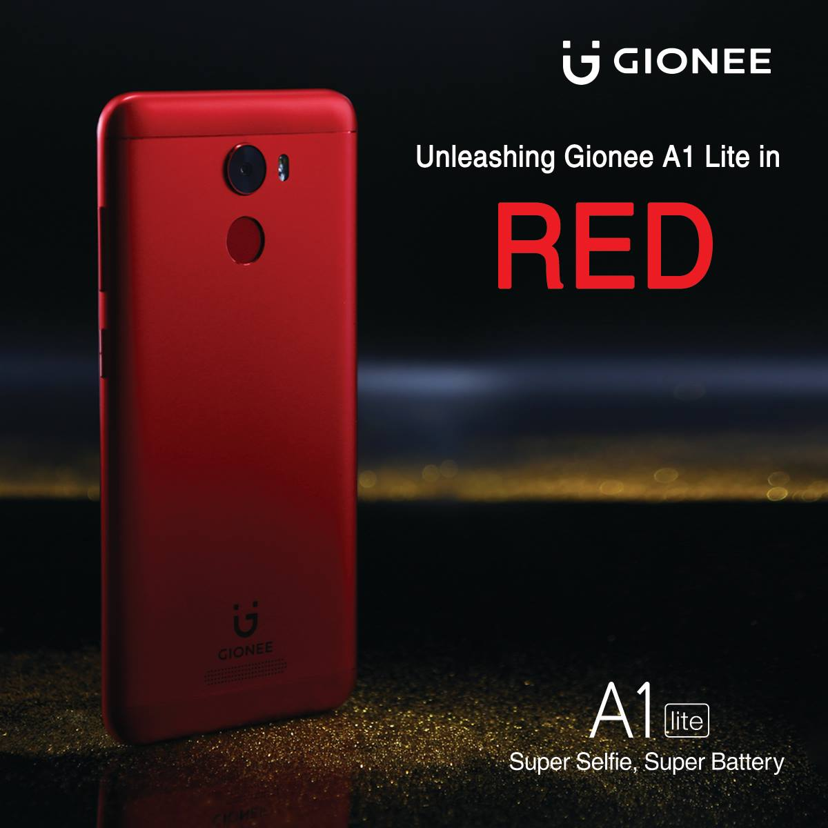 Gionee A1 Lite Red