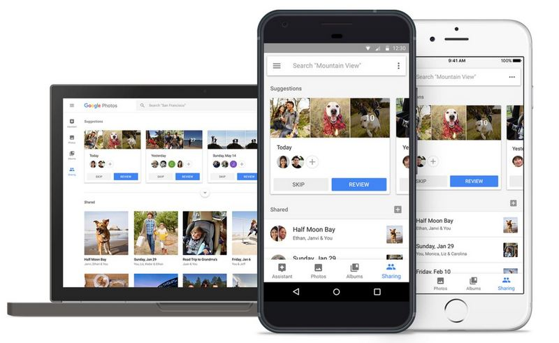 Google Photos Suggested Sharing