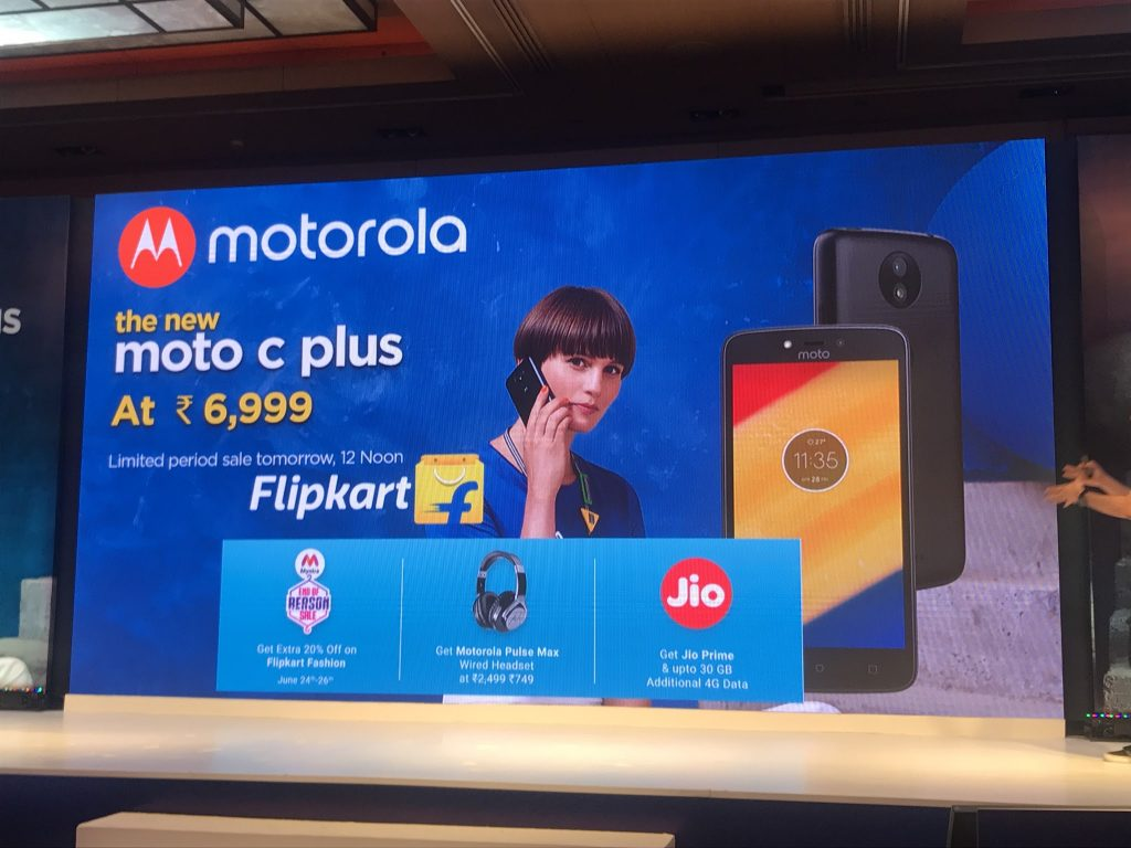 Moto C Plus Offers