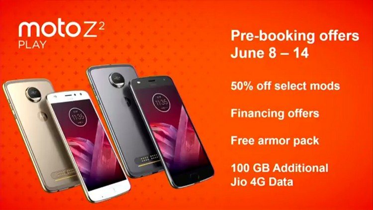 Moto Z2 Play Offers
