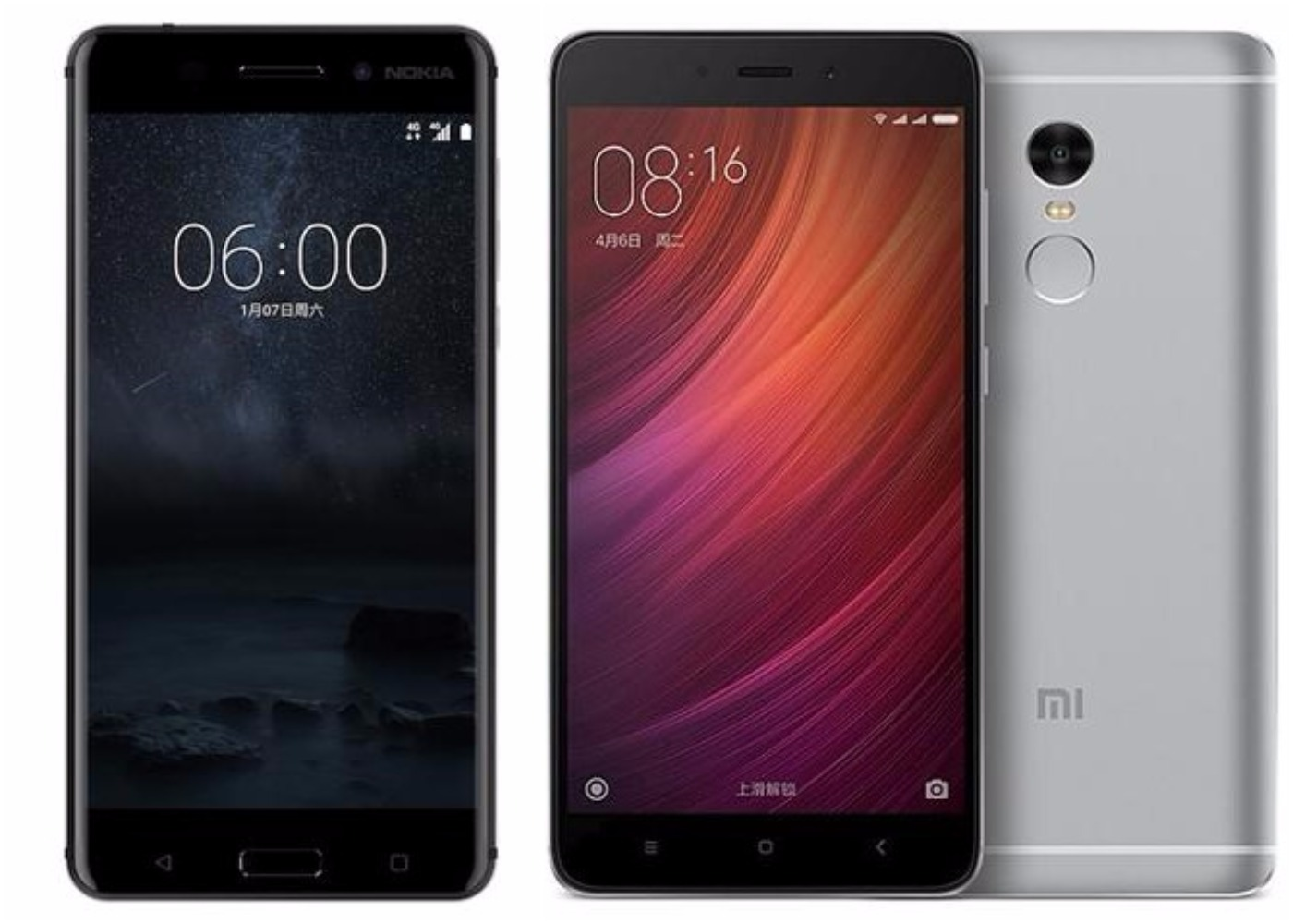 Nokia 6 Vs Xiaomi Redmi Note 4