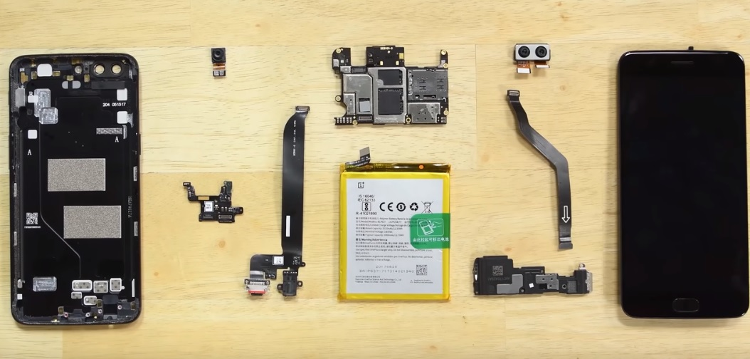 OnePlus 5 teardown
