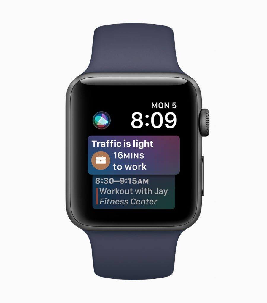 Siri Watch Face watchOS 4
