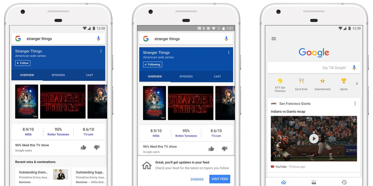 Google Brings Personalized News Feed To Its iOS And Android Apps
