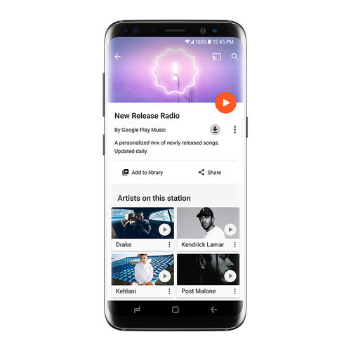 Google New Release Radio