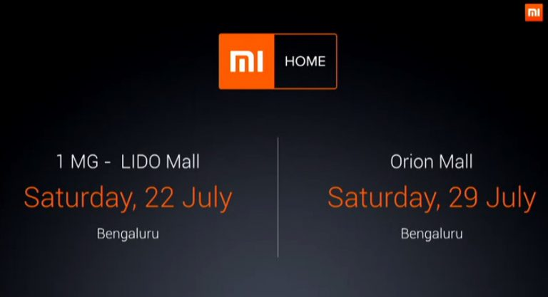 Mi Home stores to open in Bengaluru