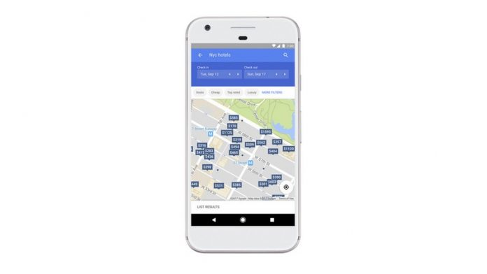 Google Maps Hotels Airports