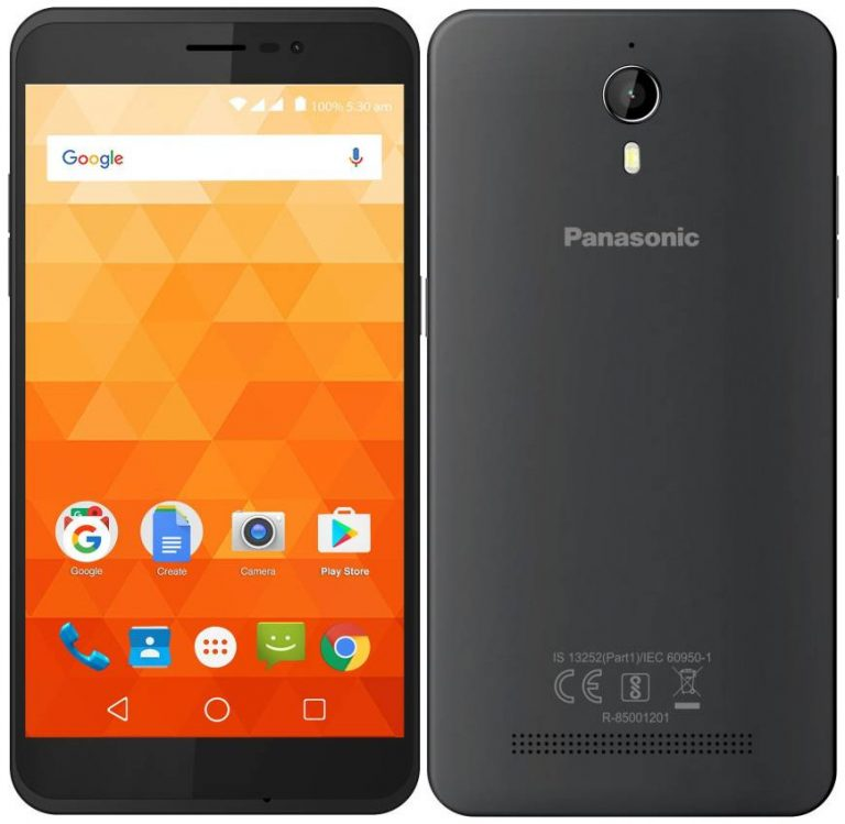 Image result for Panasonic P77 16GB Storage Variant unveiled in India at Rs 5,299