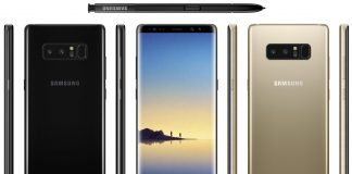 Samsung Galaxy Note 8 leaks Golden color