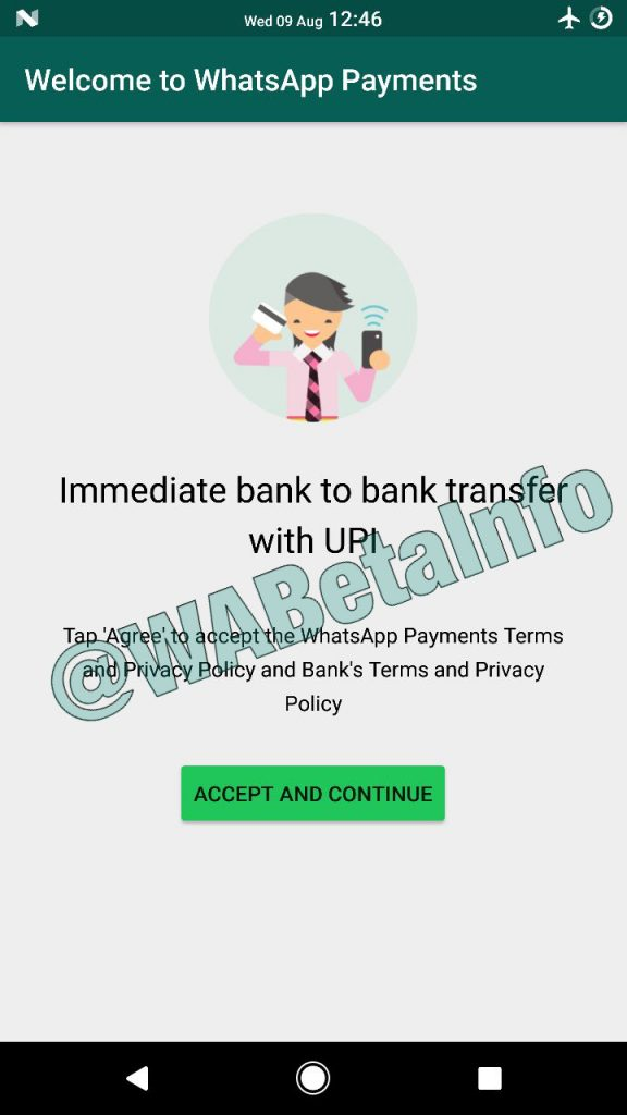 Whatsapp Payments UPI