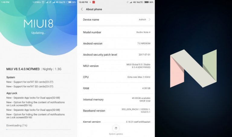 Redmi-Note-4-MIUI-8.5.4.0-Android-7.0-Nougat