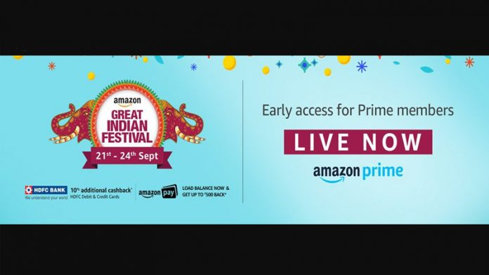Amazon Great Indian Festival featured image