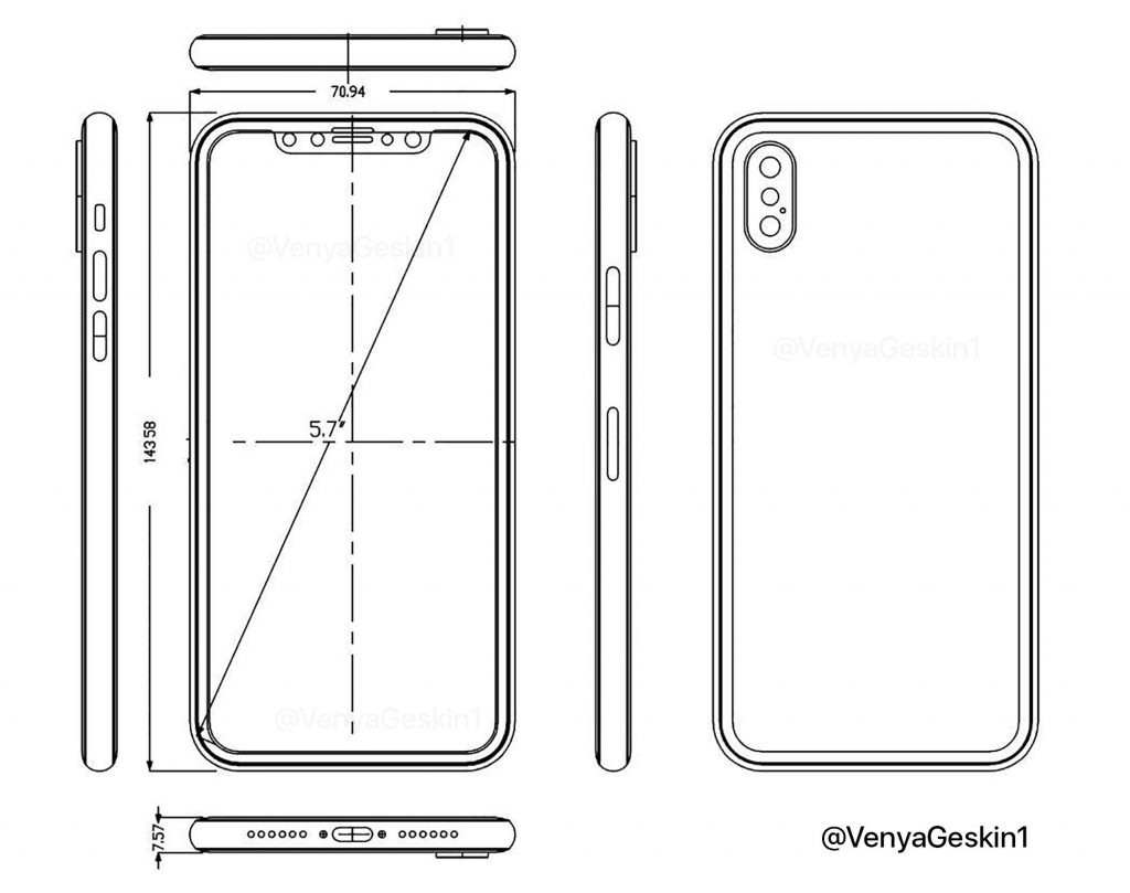 Apple iPhone 8 Schematics
