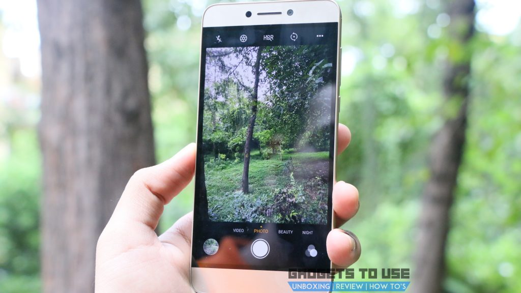 Coolpad Cool Play 6 Camera UI