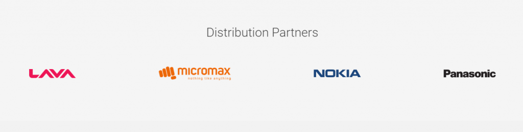 Google Tez distribution partners
