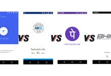 Google Tez vs. Paytm vs. PhonePe vs. BHIM featured image