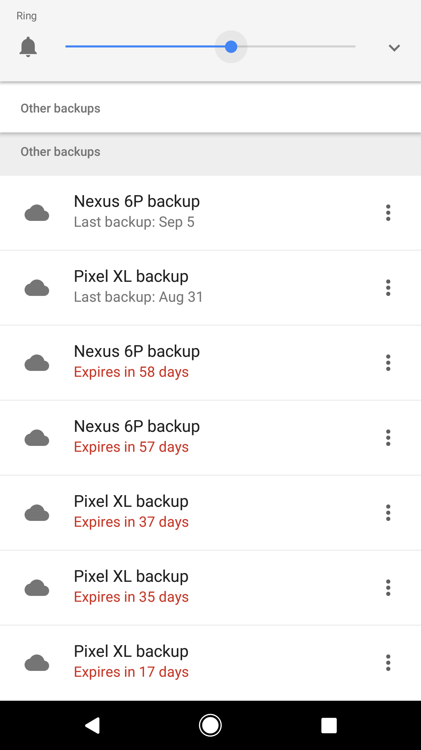 how to backup all data android to google drive