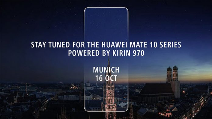 Huawei Mate 10 to be announced featured image