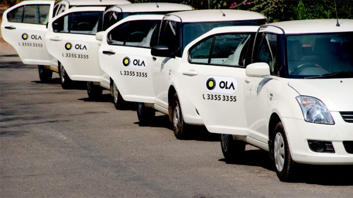 Ola Driver spotted using phone featured image