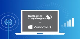 Qualcomm and Windows 10 laptop featured image