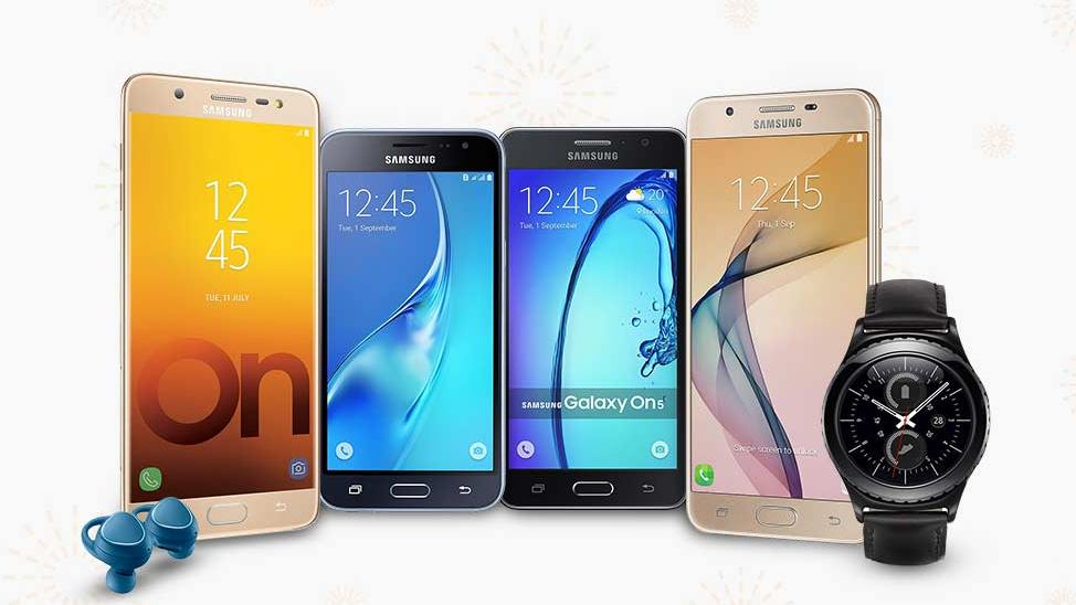 samsung shop anniversary sale offers discounts cashback