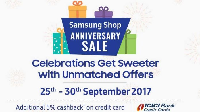 68272831db4 Samsung Shop anniversary sale offers discounts