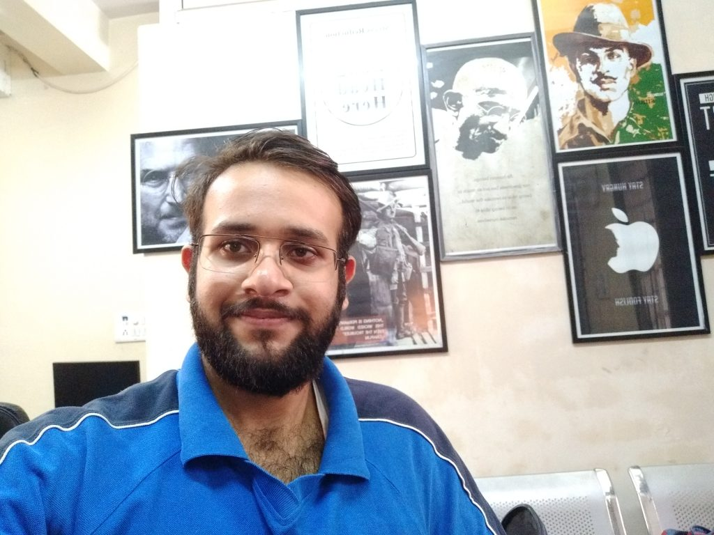 Vivo V7+ Front camera sample
