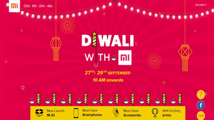 Xiaomi Diwali with Mi Sale featured image