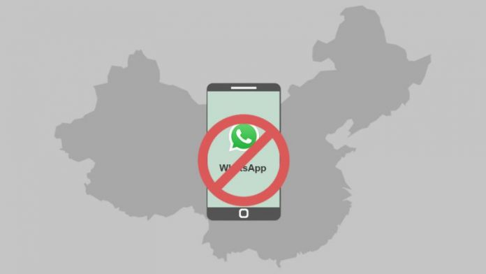 China Causing WhatsApp Problems