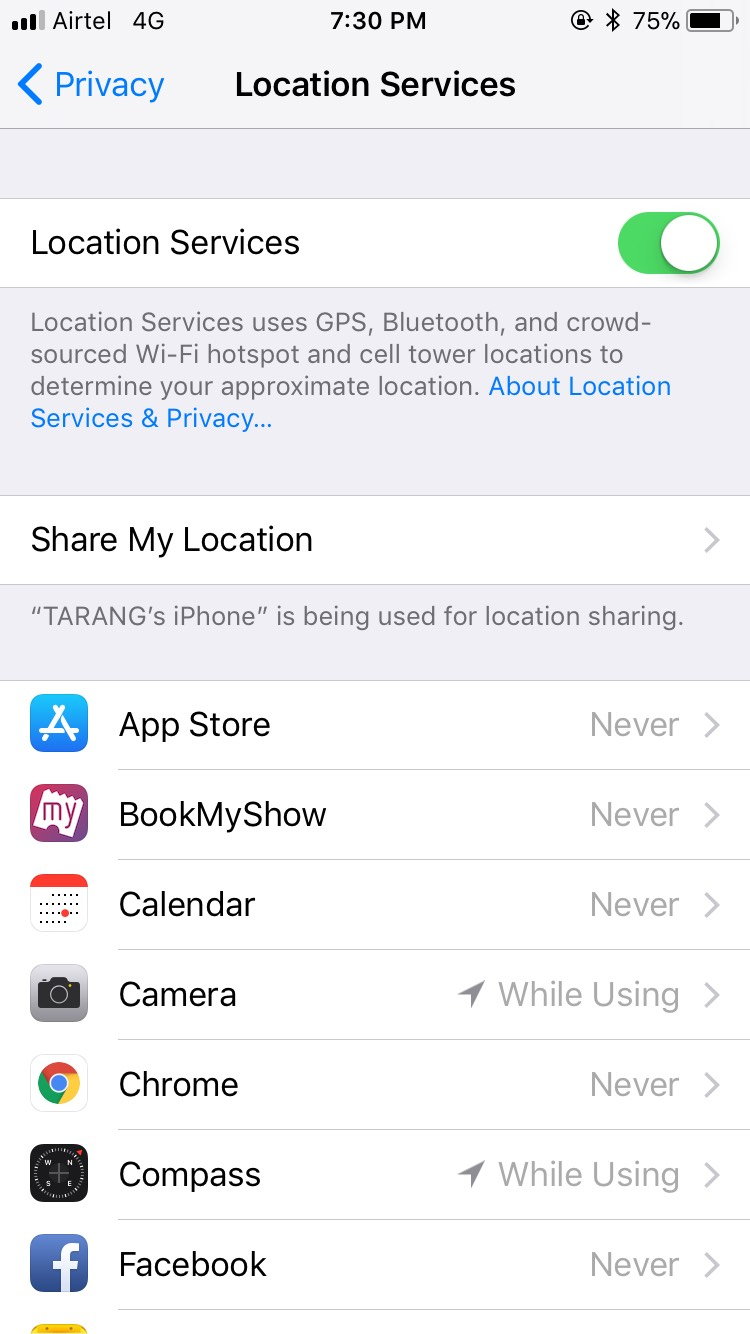 location services iphone iphone slowdown after ios 11 update try these easy solutions 12586