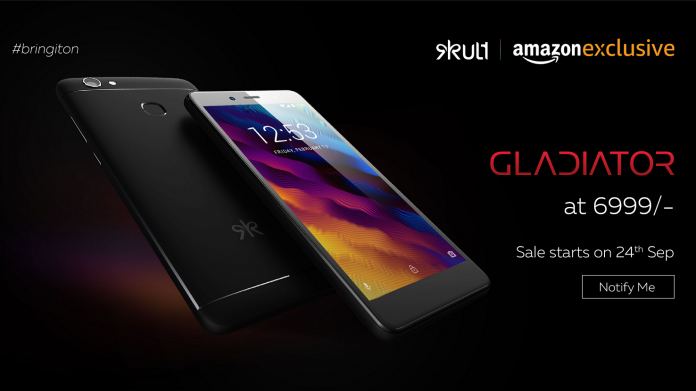 Kult Gladiator With 4000mAh Battery, Front Flash Launched: Price, Specifications