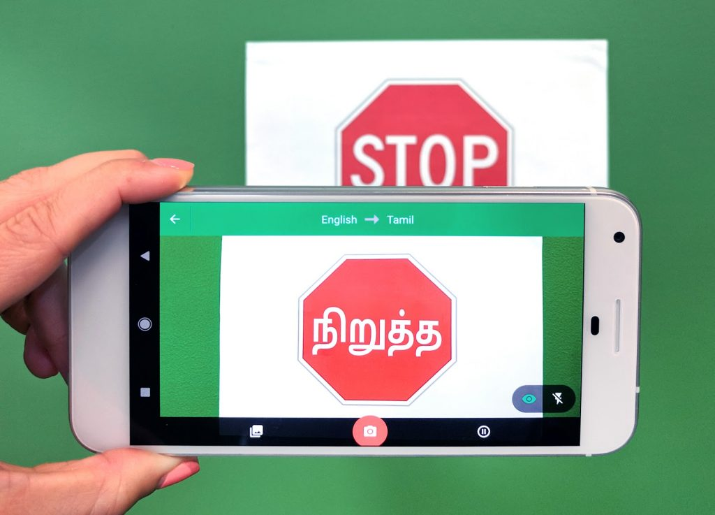 Google Translate brings offline, visual translation for 7