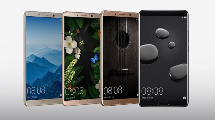 Smartphone Huawei Mate 10 Pro officially revealed